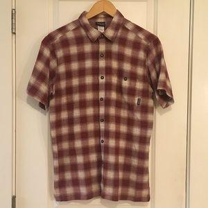 ⭐️ Patagonia Organic Cotton Plaid Shirt Medium